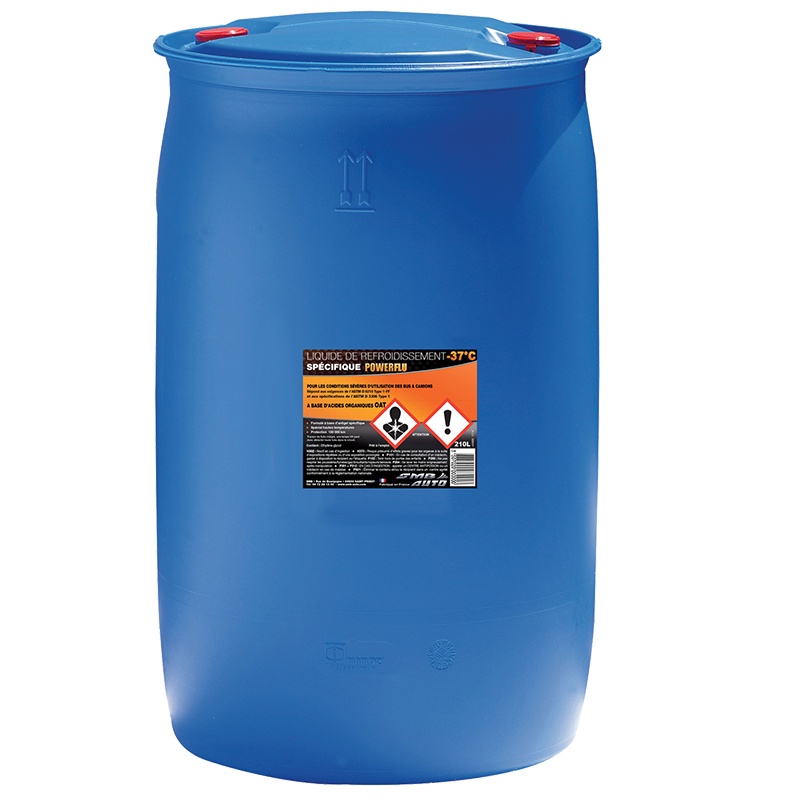 Liquide refroidissement EURO 6, 210 litres