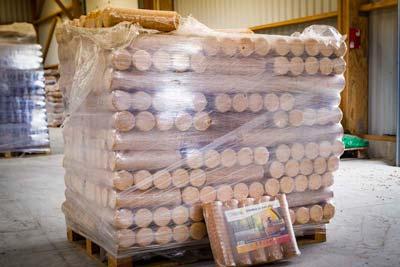 Livraison palette bois densifié à domicile
